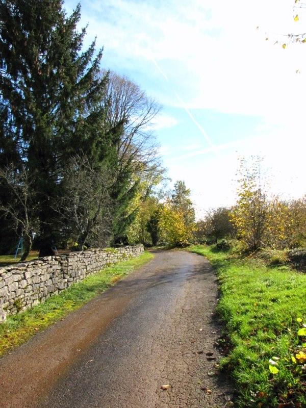 chemin de l'église
