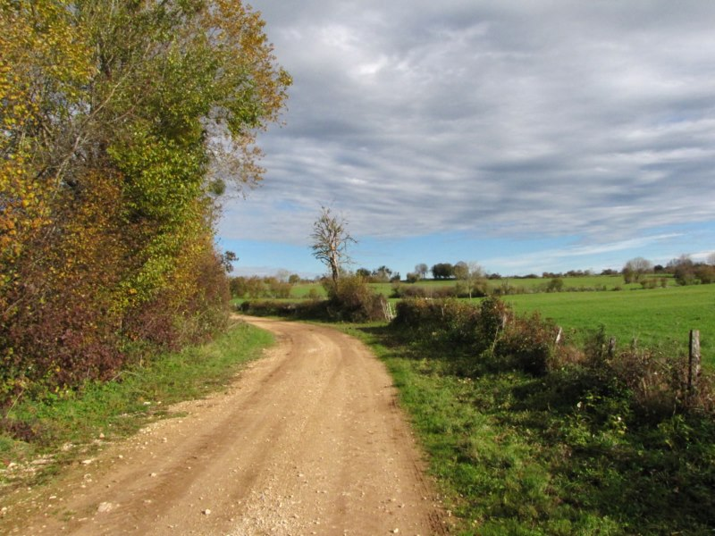 chemin autour du village