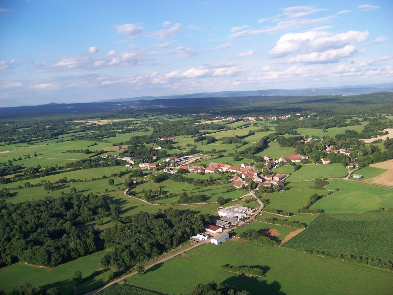 Vue aérienne de Fay  Eric Lepaul